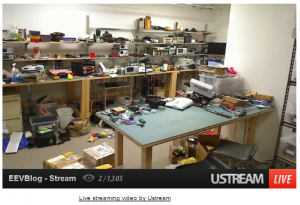 Live streaming from ustream.