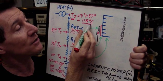 EEVblog #105 – Electronics Thermal Heatsink Design Tutorial