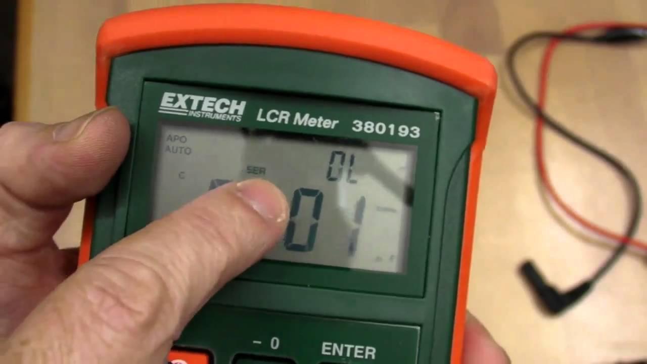 EEVblog #115 – Extech 380193 LCR Meter Review