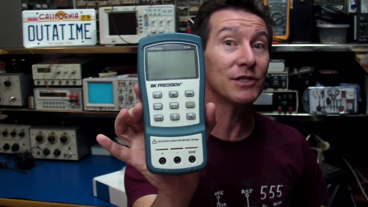 EEVblog #137 – BK Precision 879B Handheld LCR Meter Review