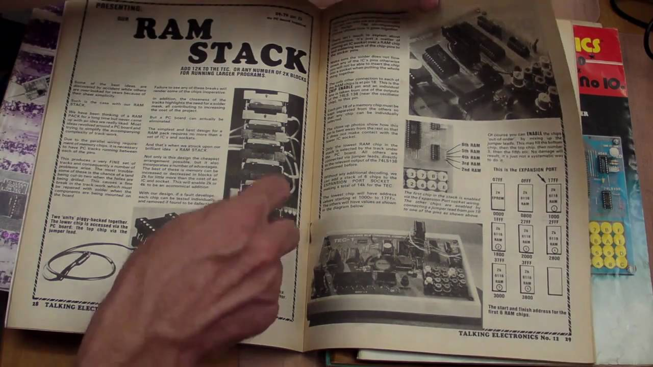 EEVblog #142 – Electronics Magazine Memories