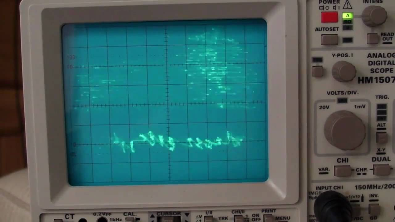 EEVblog #153 – YouScope Demo on a Digital Scope