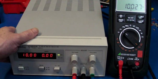 EEVblog #166 – HP Agilent E3610A Lab Power Supply