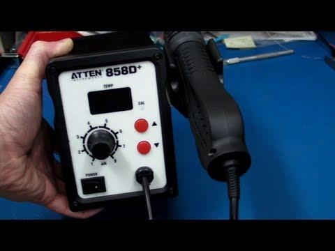 EEVblog #167 – Atten 858D Hot Air Rework Review