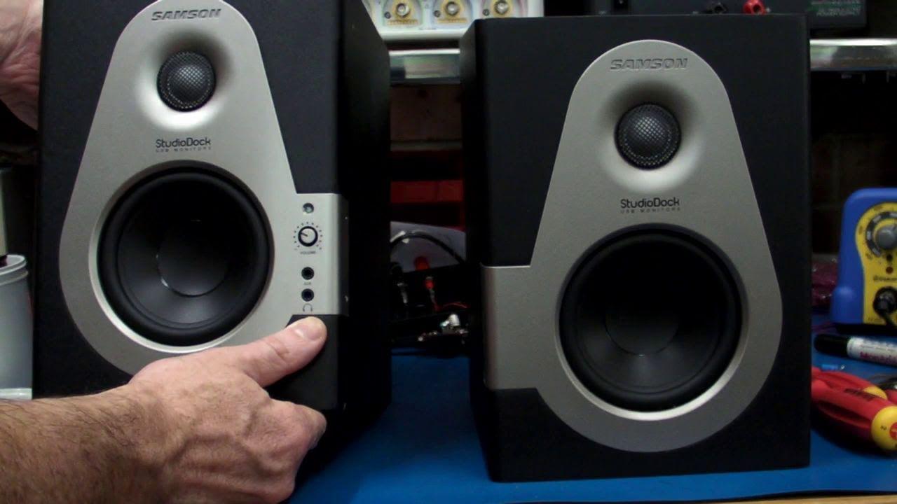 EEVblog #169 – Samson StudioDock 4i USB Monitor Speaker Review