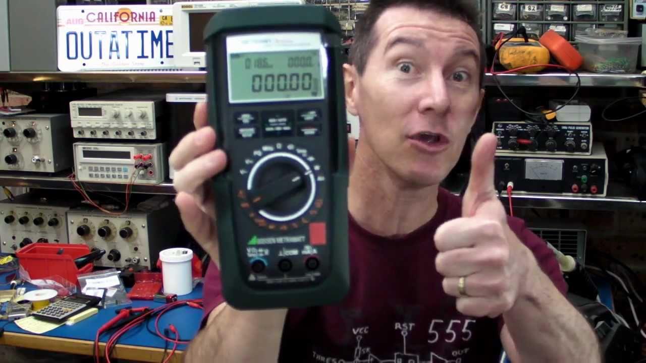 EEVblog #173 – Gossen Metrahit Energy Multimeter Teardown