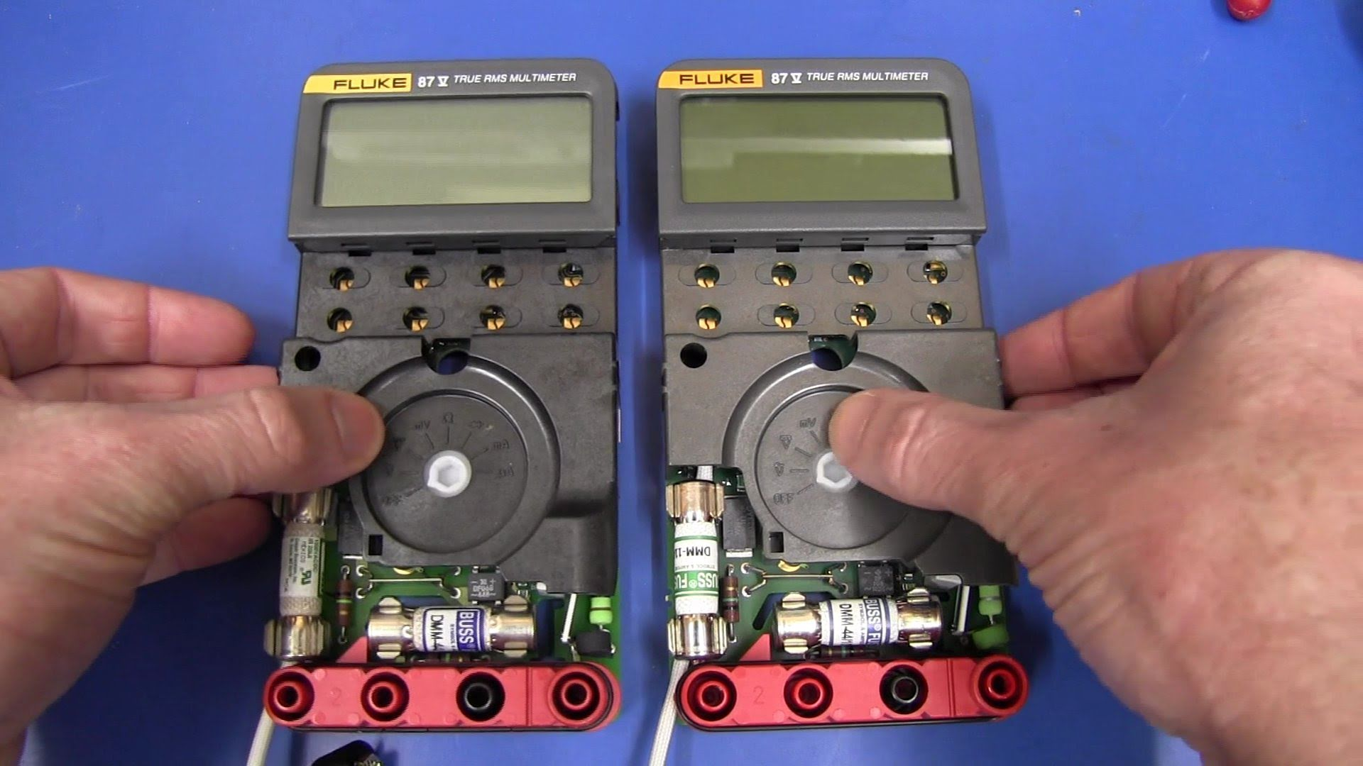 EEVblog #185 – Fluke 87V Multimeter GSM Fix