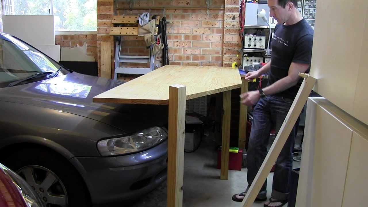 EEVblog #194 – Lab Bench Build