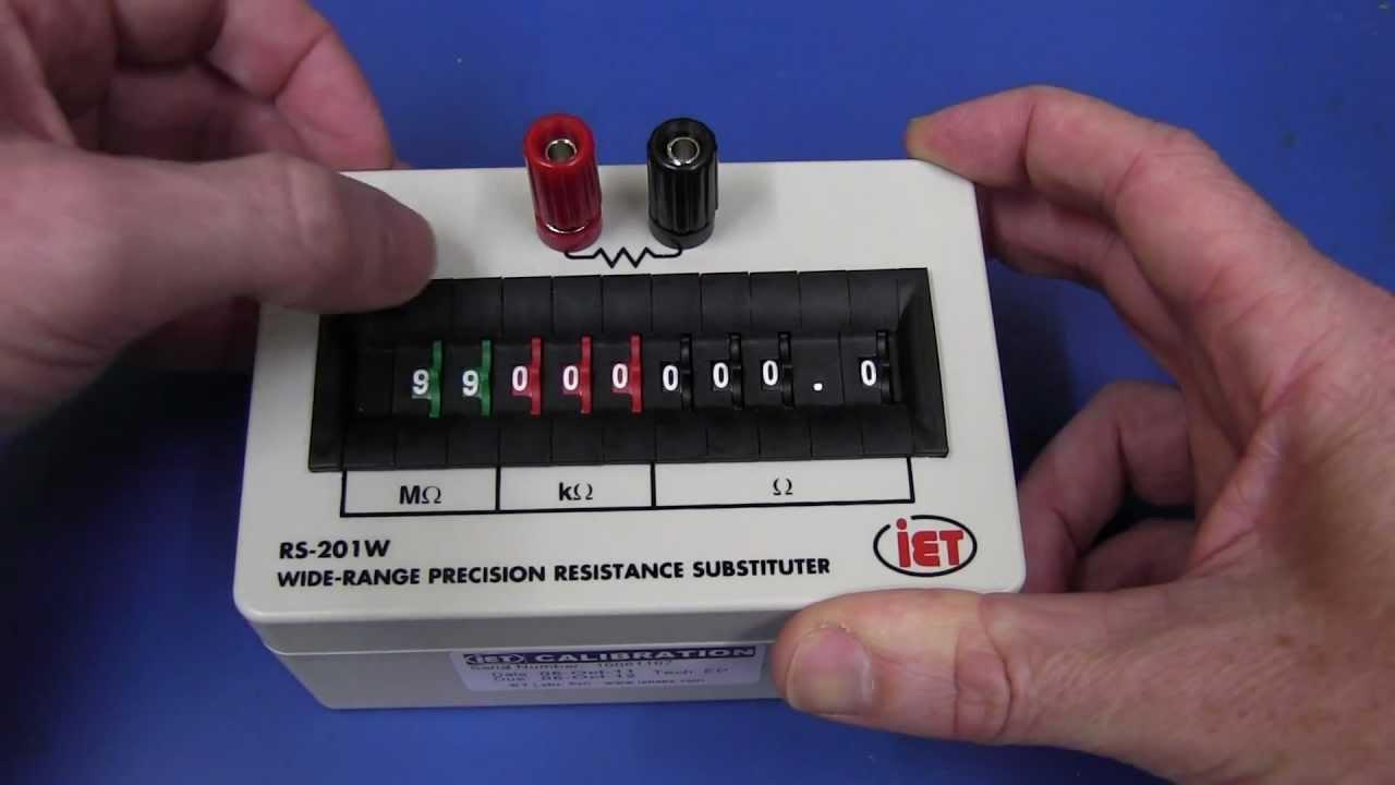 EEVblog #211 – IET Decade Resistance Substitution Box