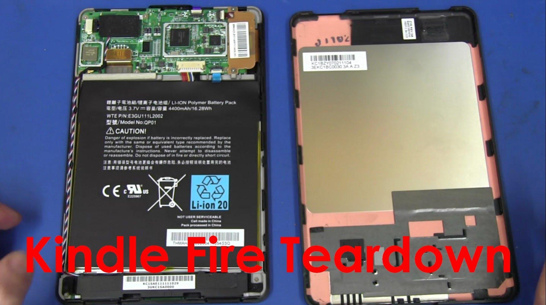 EEVblog #219 – Amazon Kindle Fire Tablet Teardown