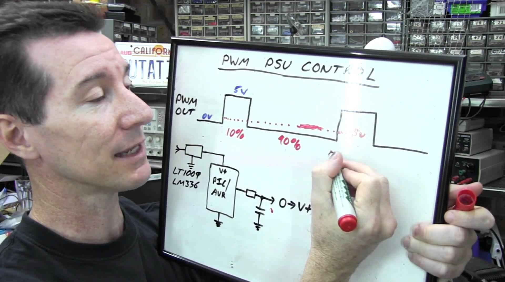 EEVblog #225 – Lab Power Supply Design Part 4 – PWM Control