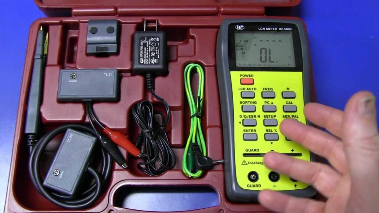 EEVblog #229 – IET DE-5000 LCR Meter Teardown