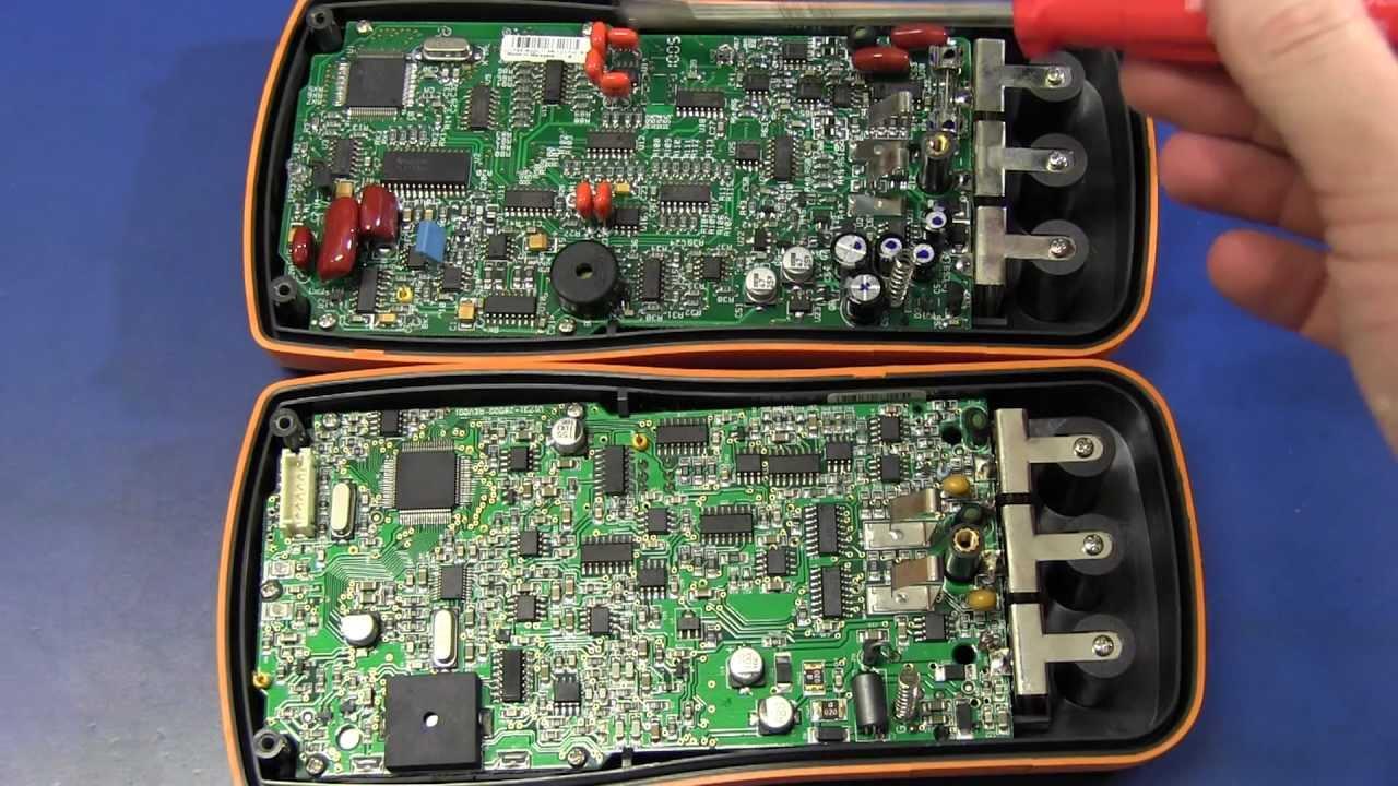 EEVblog #234 – Agilent U1733C LCR Meter Teardown