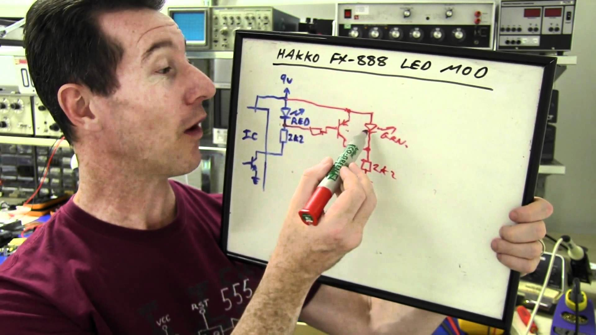 EEVblog #242 – Hakko FX-888 Soldering Iron Hack