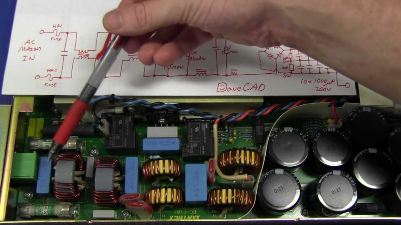EEVblog #268 – Xantrex 300V 4A Power Supply Teardown