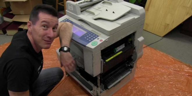 EEVblog #303 – Photocopier Extreme Teardown
