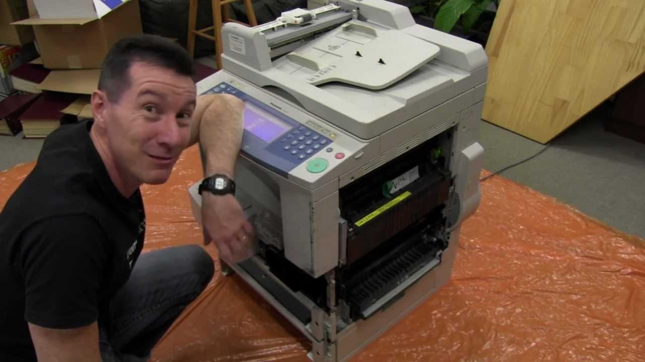 EEVblog #303 – Photocopier Extreme Teardown