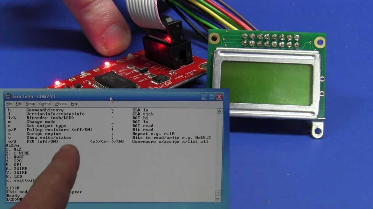 EEVblog #313 – Bus Pirate LCD Debugging