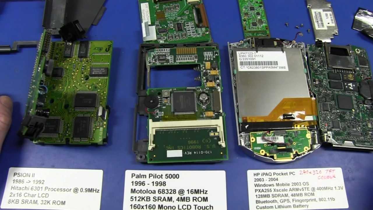 EEVblog #334 – History of PDA Teardowns