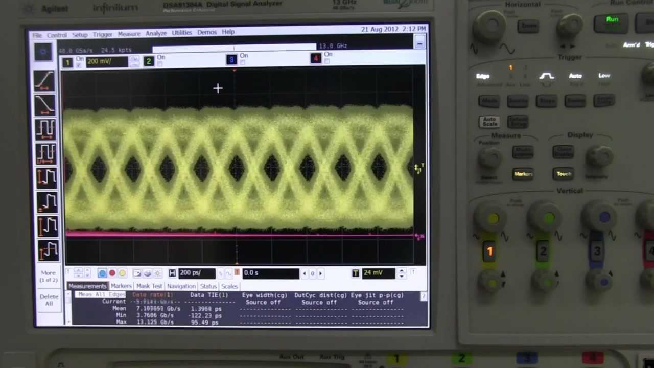 EEVblog #340 – USB 3.0 Eye Diagram Measurement
