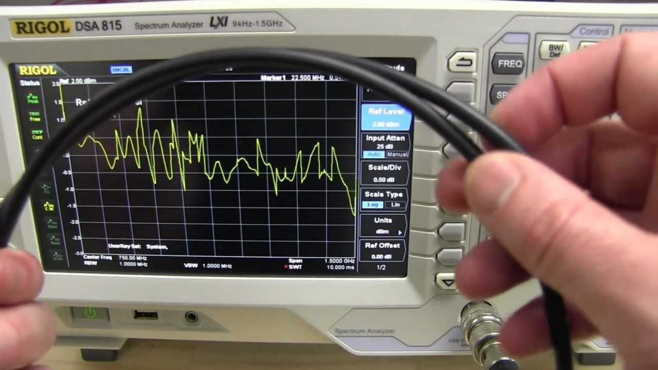 EEVblog #343 – Spectrum Analyser Tracking Generator Tutorial