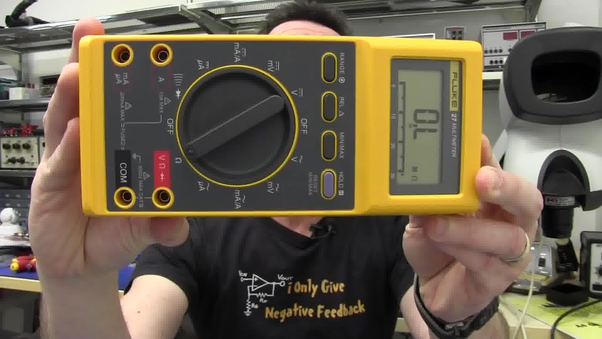 EEVblog #372 – Fluke 27 Multimeter Review & Teardown