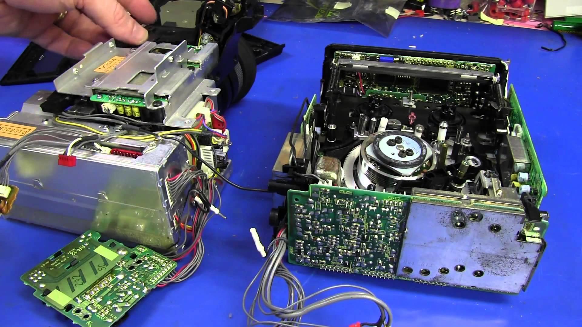 EEVblog #375 – Sony Video 8 Camcorder Teardown