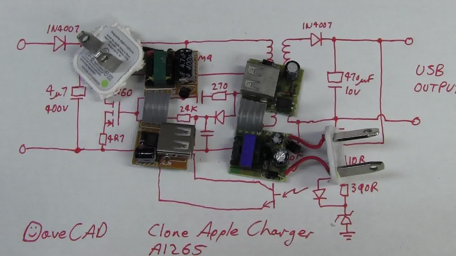 EEVblog #388 – Fake Apple USB Charger Teardown