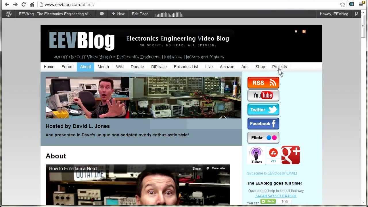 EEVblog #394 – EEVblog Online Tour