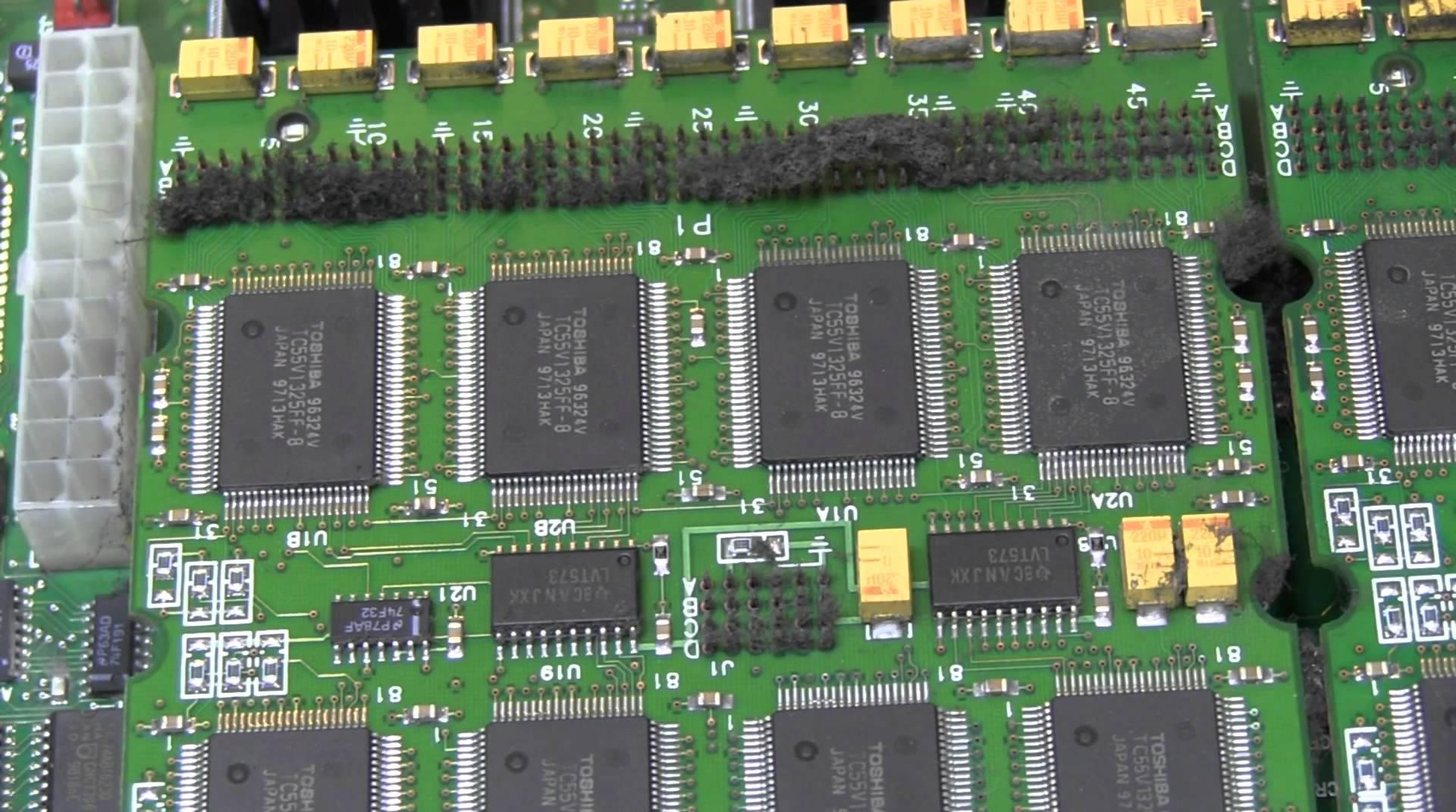 EEVblog #398 – Lecroy 9384C Oscilloscope Repair