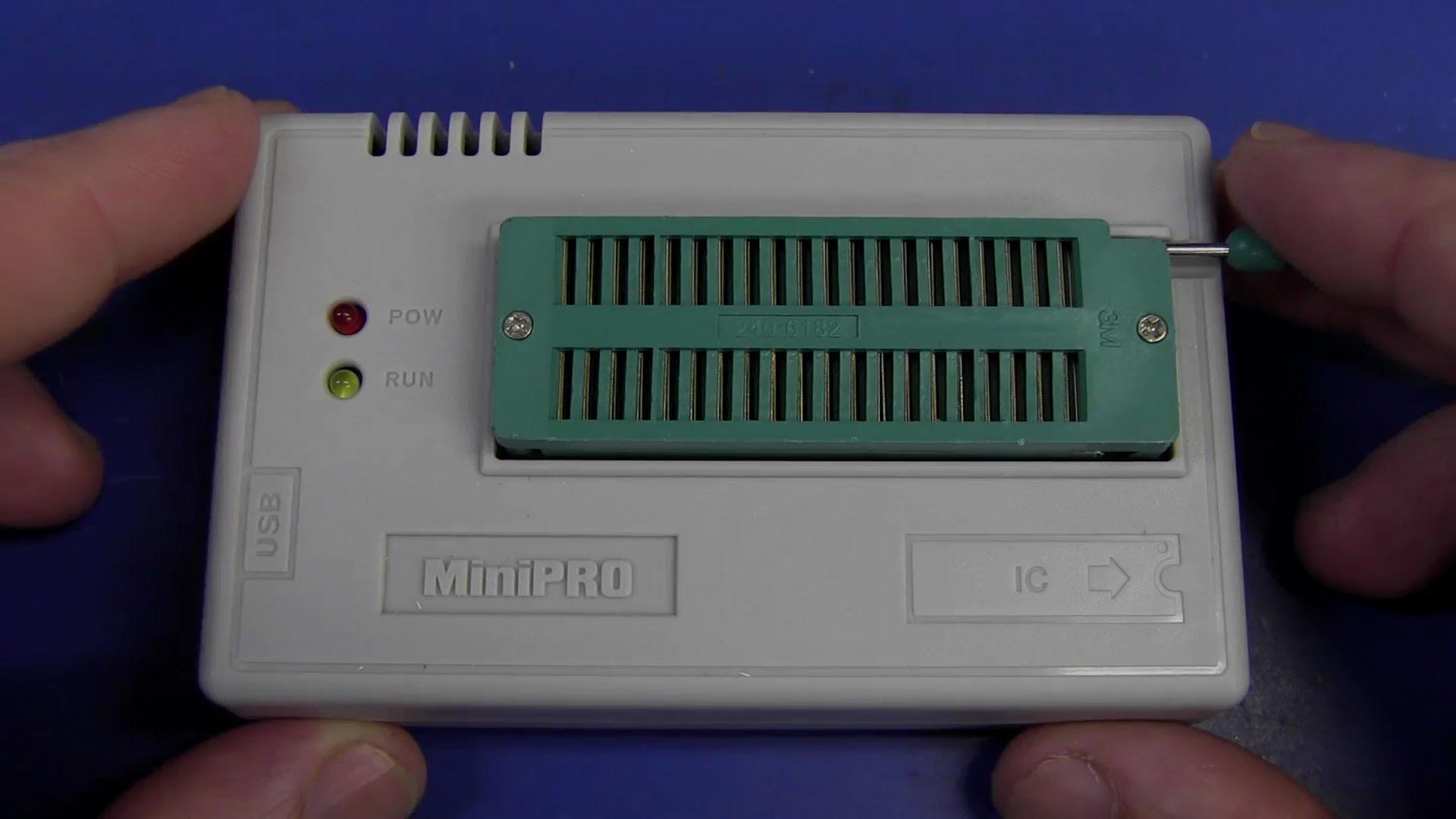 EEVblog #411 – MiniPro TL866 Universal Programmer Review
