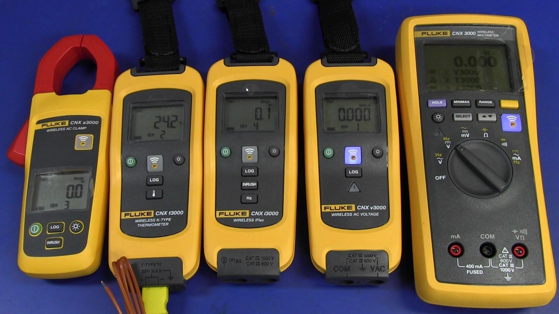 EEVblog #417 – Fluke CNX3000 Wireless Multimeter Teardown