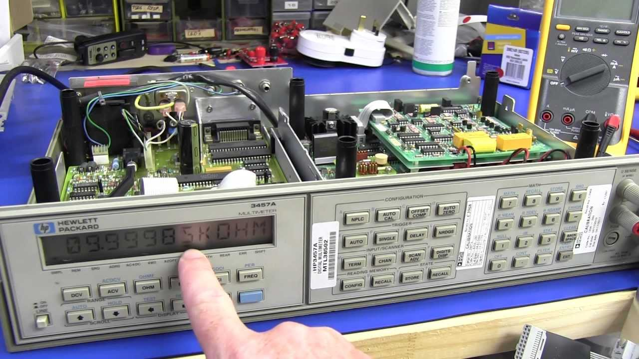 EEVBlog #426 – HP 3457A Multimeter Teardown