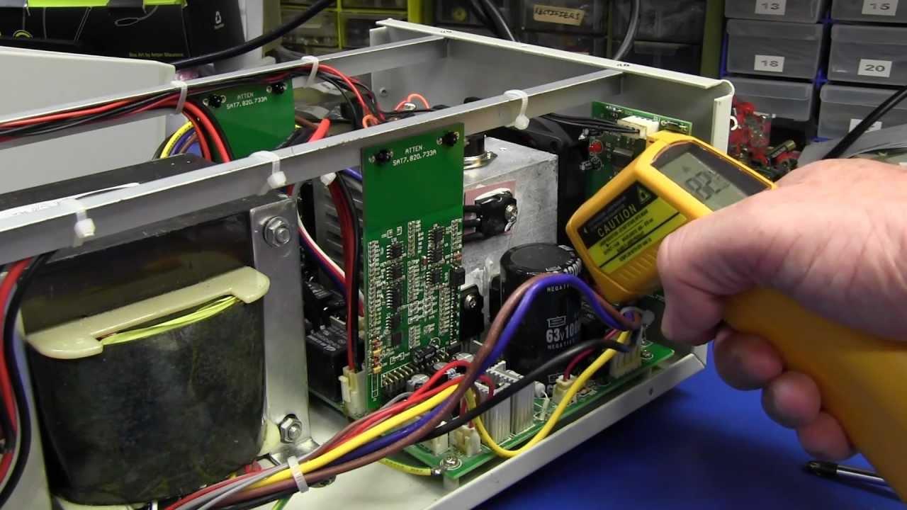 EEVblog #440 – Atten PPS3205T-3S Triple Output Power Supply Teardown