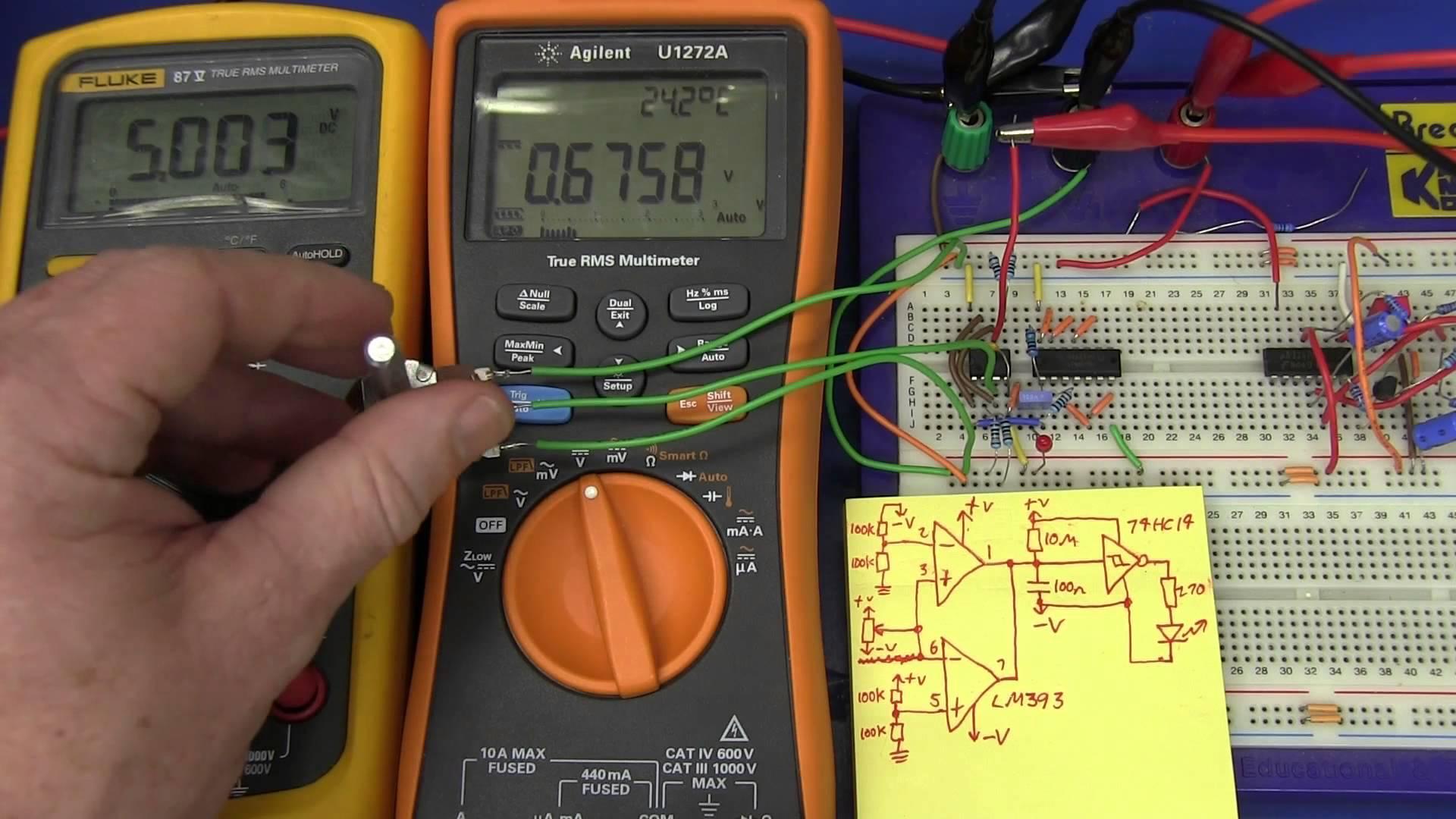 EEVblog #471 – Overload Detector Circuit Design