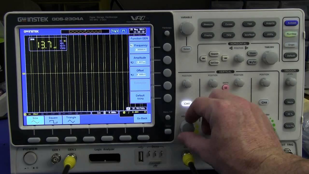 EEVblog #474 – GW Instek GDS-2000A Series Oscilloscope Unboxing & First Impression