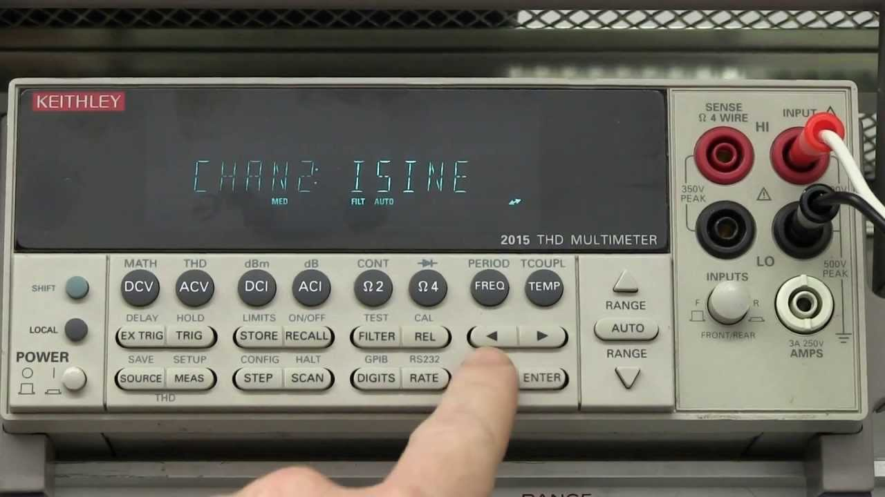 EEVblog #478 – Keithley 2015 THD Multimeter Teardown