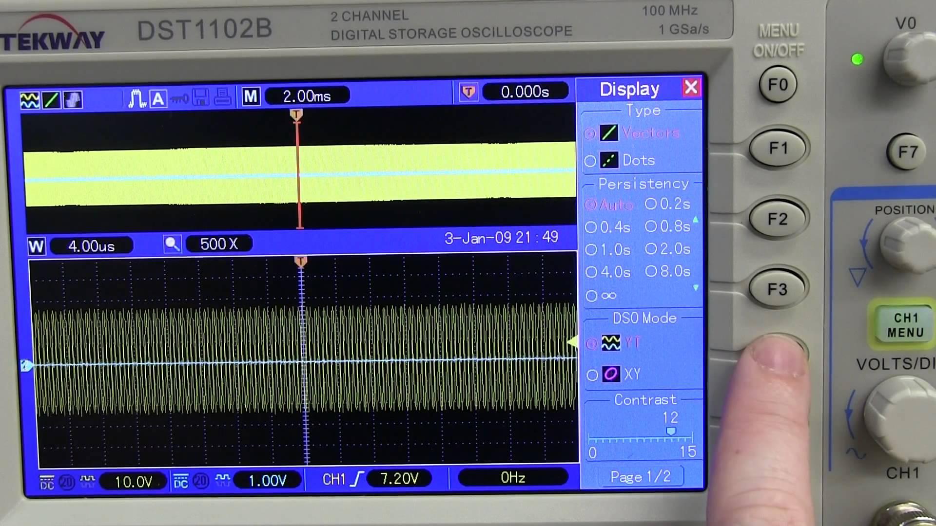 EEVblog #487 – Tekway DST1102B Oscilloscope Review