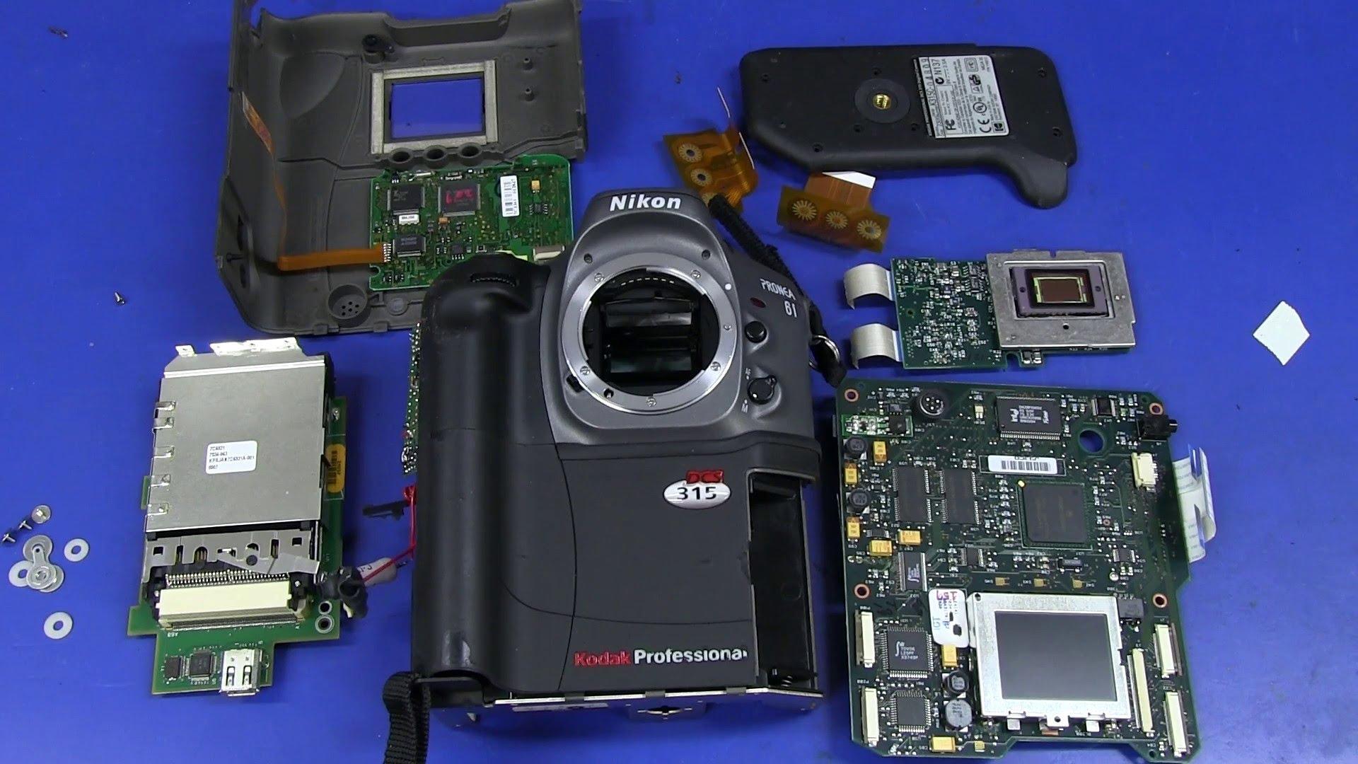 EEVblog #495 – Kodak DCS315 DSLR Teardown