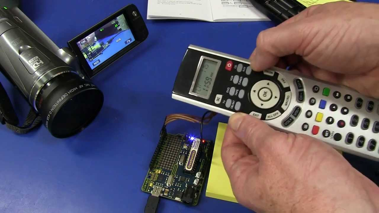 EEVblog #505 – IR Learning Remote Control Hack