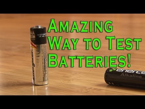 EEVblog #508 – Can You Test Battery Charge By Dropping It?