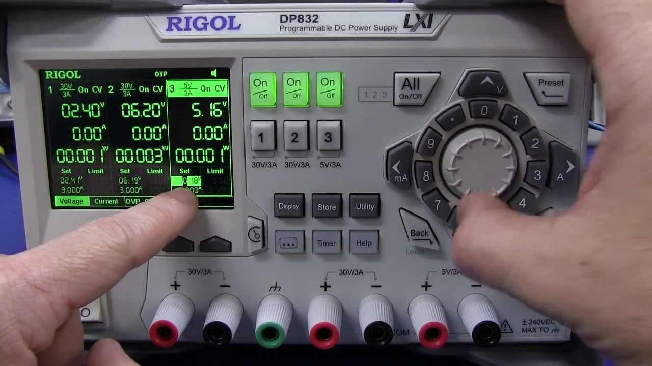 EEVblog #509 – Rigol DP832 Lab Power Supply