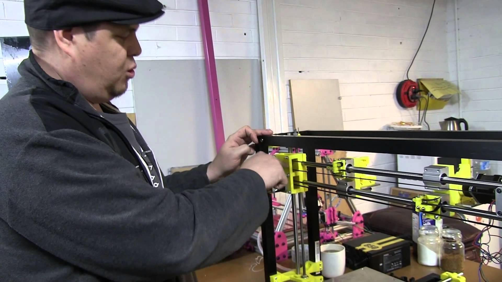EEVblog #520 – Michael's 3D Printer