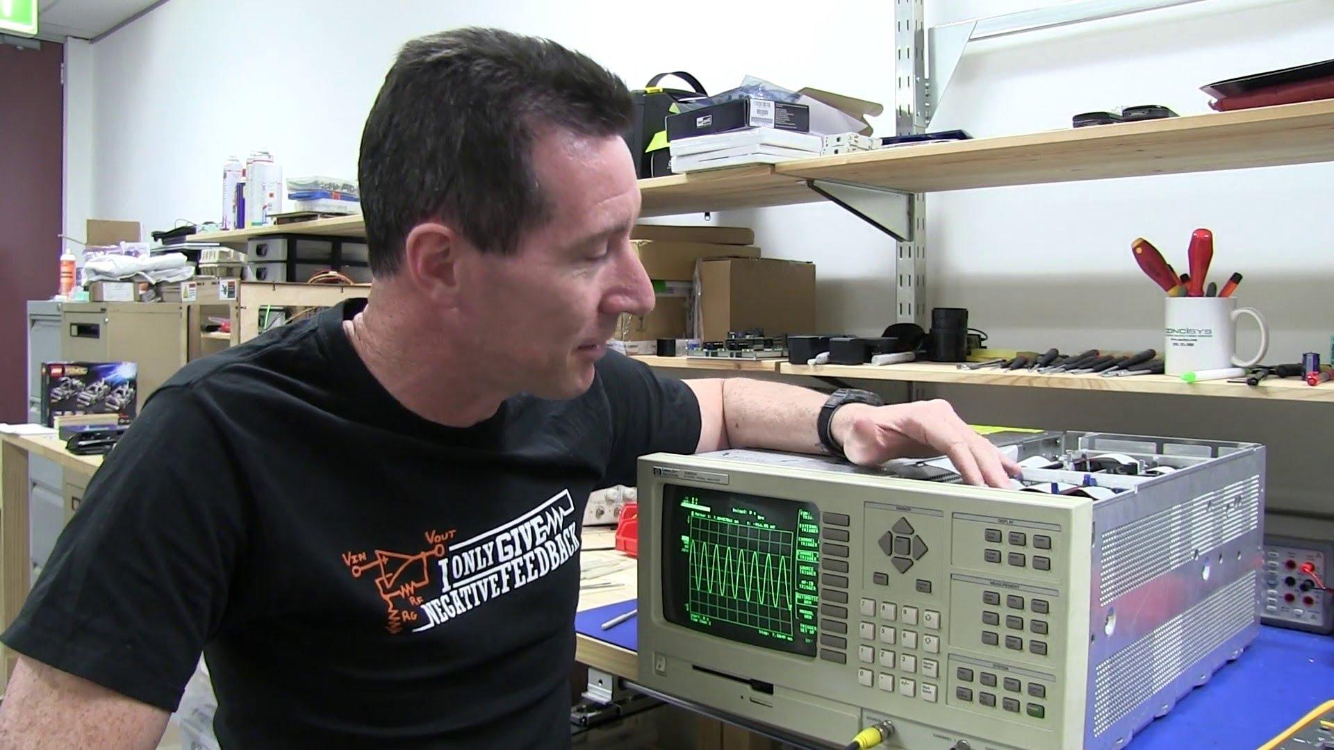 EEVblog #523 – REPAIR: HP 35660A Dynamic Signal Analyser