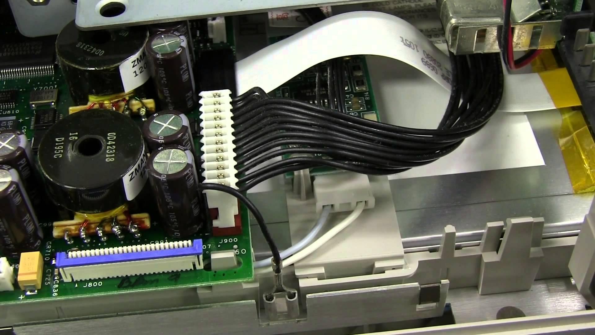 EEVblog #564 – Tektronix TDS3054 Oscilloscope Teardown Repair