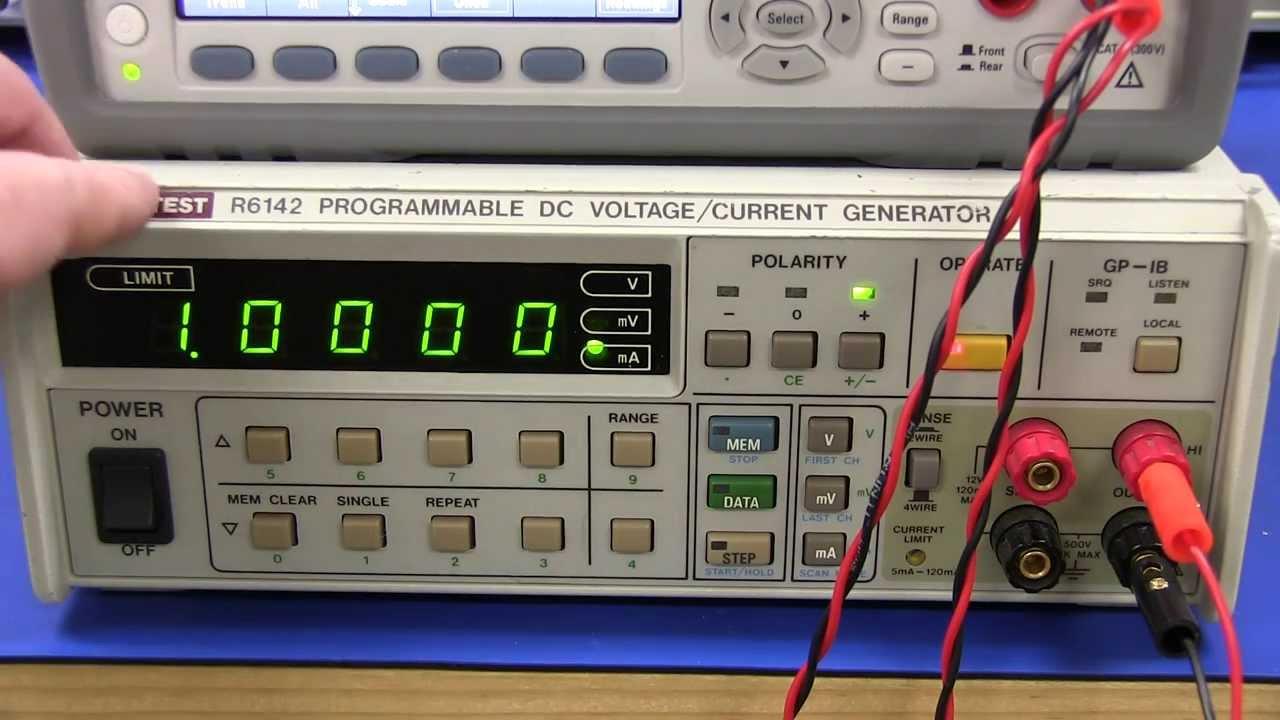EEVblog #576 – Advantest R6142 Current Voltage Generator