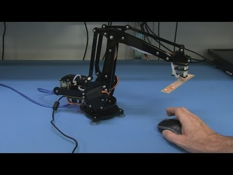 EEVblog #586 – Open Source Hardware uARM 4-Axis Desktop Robotic Arm Kickstarter