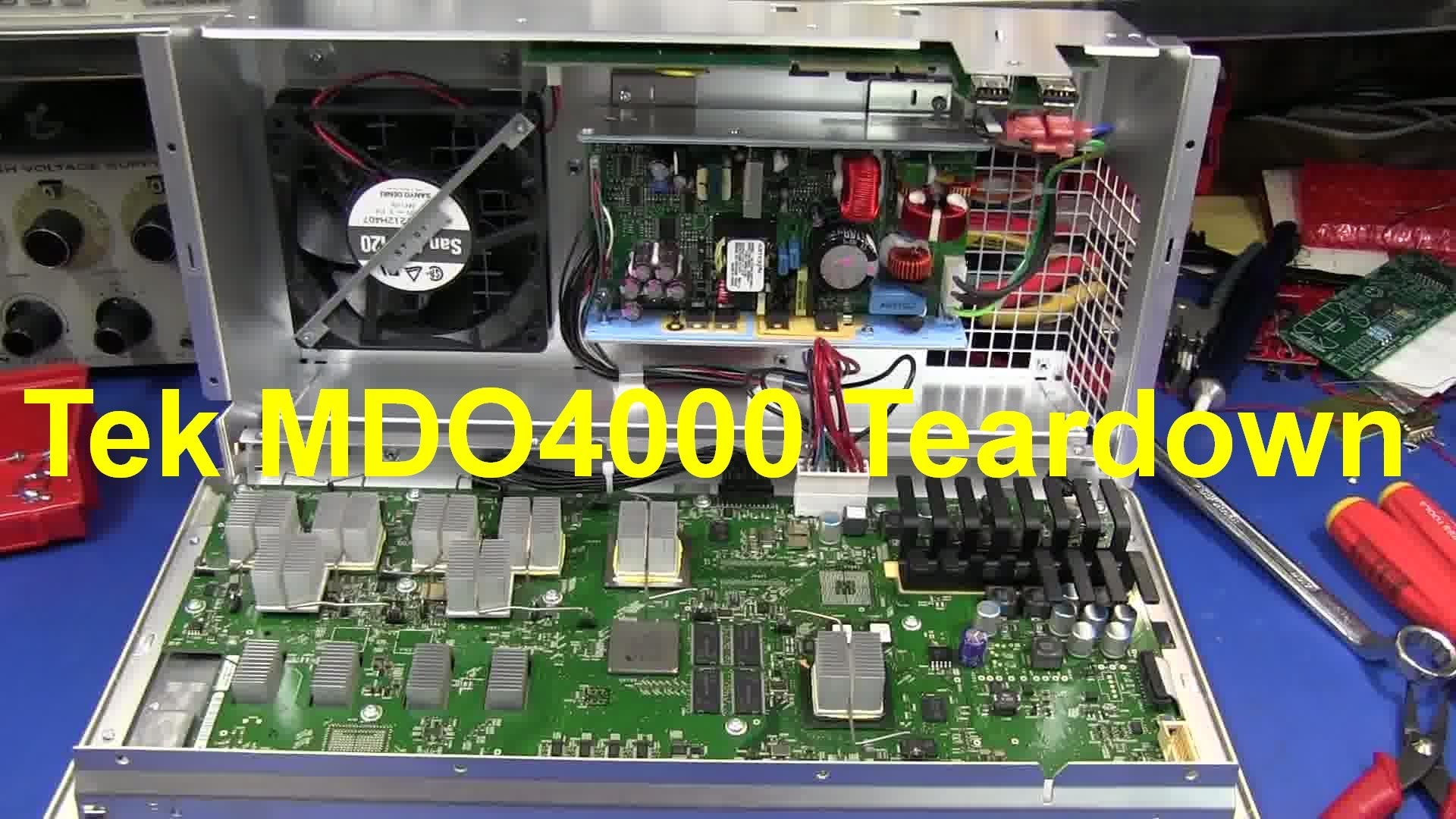 EEVblog #587 – Tektronix MDO3000 Mixed Domain Oscilloscope Teardown