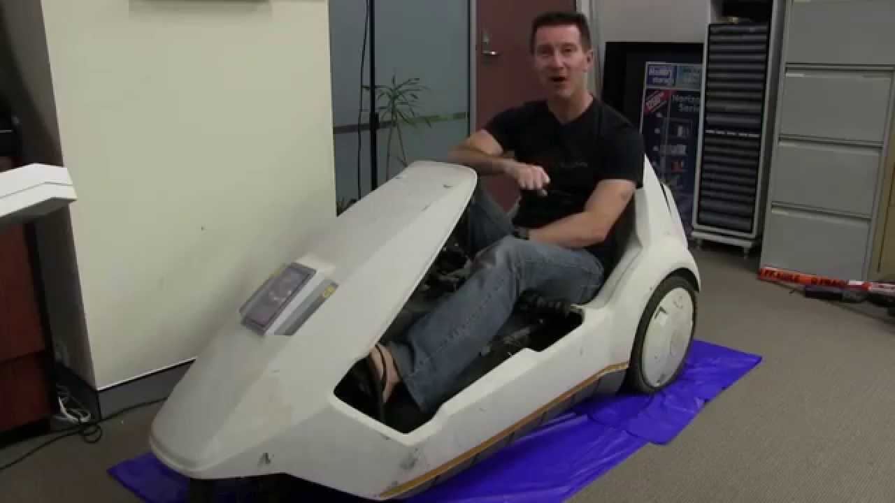EEVblog #604 – Sinclair C5 Restoration – Part 1
