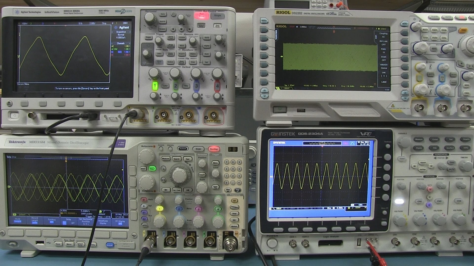 EEVblog #617 – Tektronix Oscilloscope Anomaly